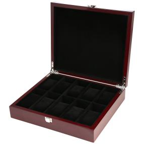 10er Holz Uhrenbox