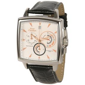 Pierre Chaubert Unisex Chronograph  Lederband