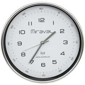 Miraval Funk-Wanduhr Zifferblatt weiß