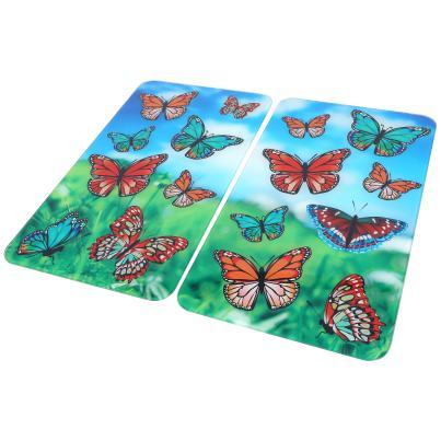 Abdeckplatte Schmetterling, 2er Set