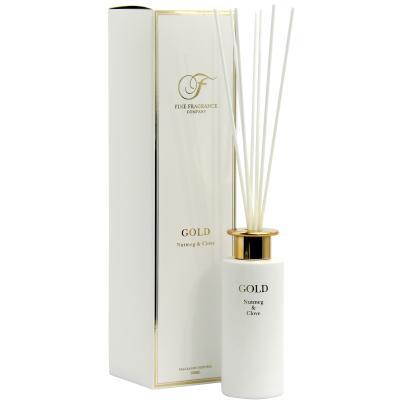 Fine Fragrance Duft Diffuser gold Muskat-Nelke