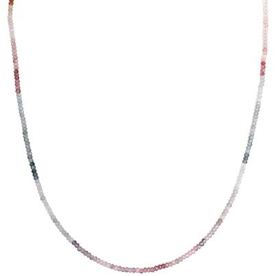 Collier Spinell AAAA multicolor, 925 Silber