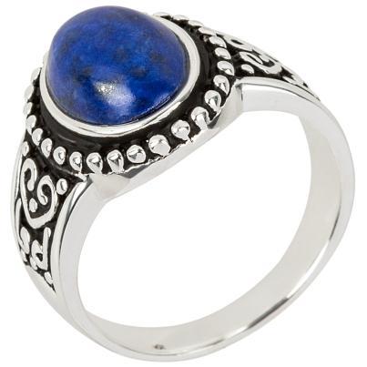 Ring 925 Sterling Silber, Lapis
