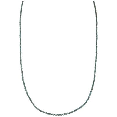 Collier Diamanten blau ca. 46 cm