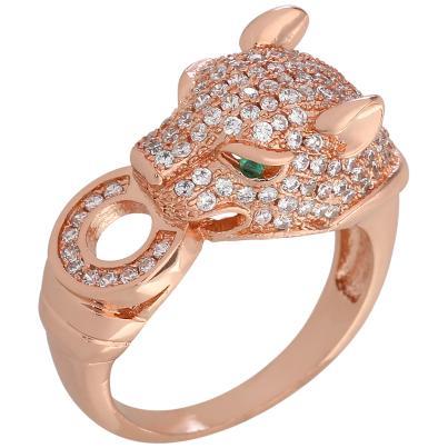ELISABETH NAEEM Ring, Kupfer rosegoldfarben