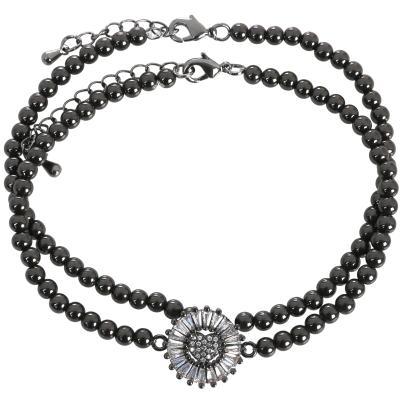 ELISABETH NAEEM Armband, Kupfer schwarz
