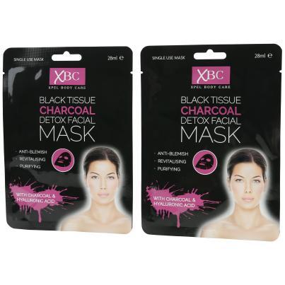 XPEL Charcoal Gesichtsmaske - 2er Set