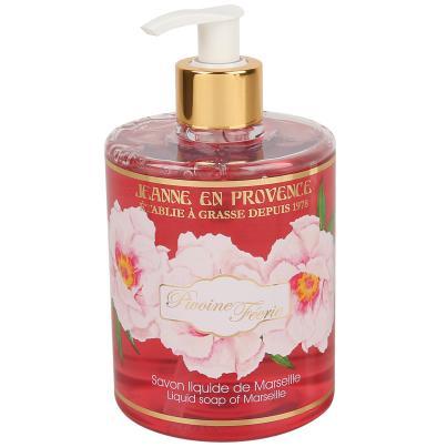 Jeanne en Provence Pivoine Féerie Flüssigseife