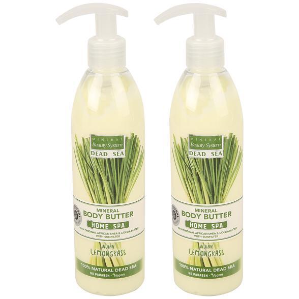 MINERAL Beauty System Body Butter Lemongrass Duo