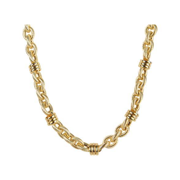 Mab London Damen Mit Steinen Besetzt Schwarzes Zifferblatt & Gold Farbe Armband- & Taschenuhren