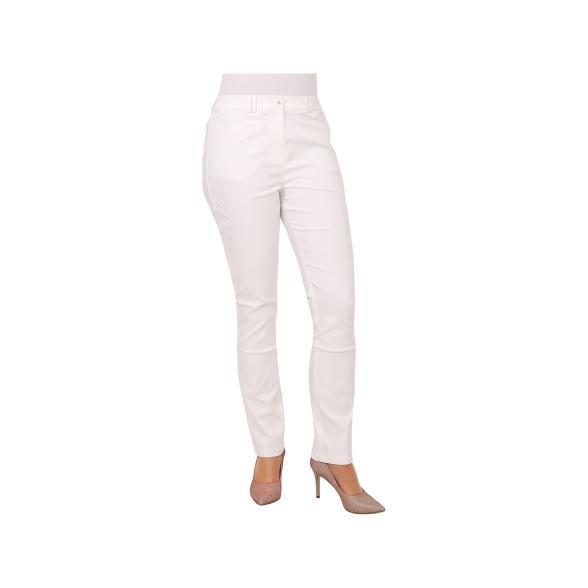 Rössler Selection Damen-Hose, 5-Pocket, weiß