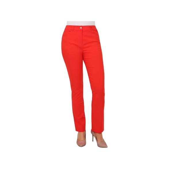 Rössler Selection Damen-Hose, 5-Pocket, Rot