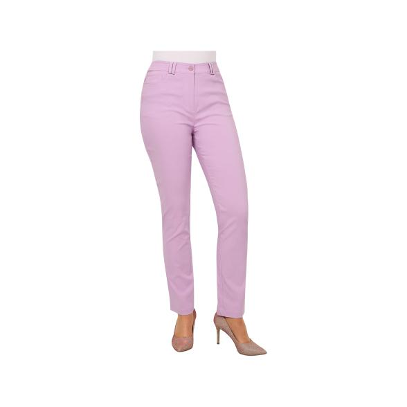 Rössler Selection Damen-Hose, 5-Pocket, Flieder