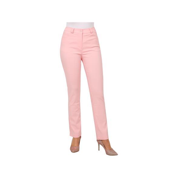Rössler Selection Damen-Hose, 5-Pocket, Rosé