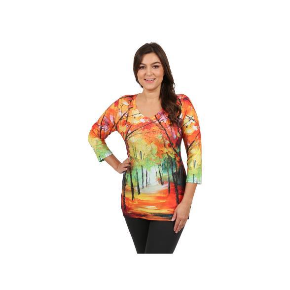BRILLIANT SHIRTS Damen-Shirt ´´Autumn Walk´´