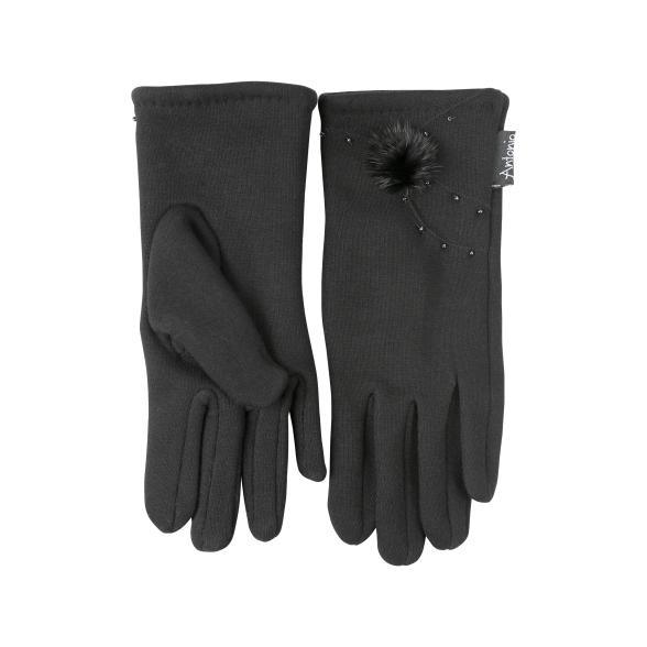 35 Cm Bekleidung Zubehör Armstulpen 1 Para Mode Winter Arm Wärmer Frauen Warme Handschuhe Finger Schwarz & Grau Schwarz & Weiß Gestrickte Lange Handschuhe Baumwolle Länge