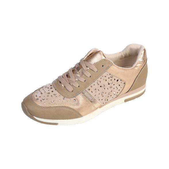 SPROX Damen Sneaker kupfer Soft Touch, nude/kupfer