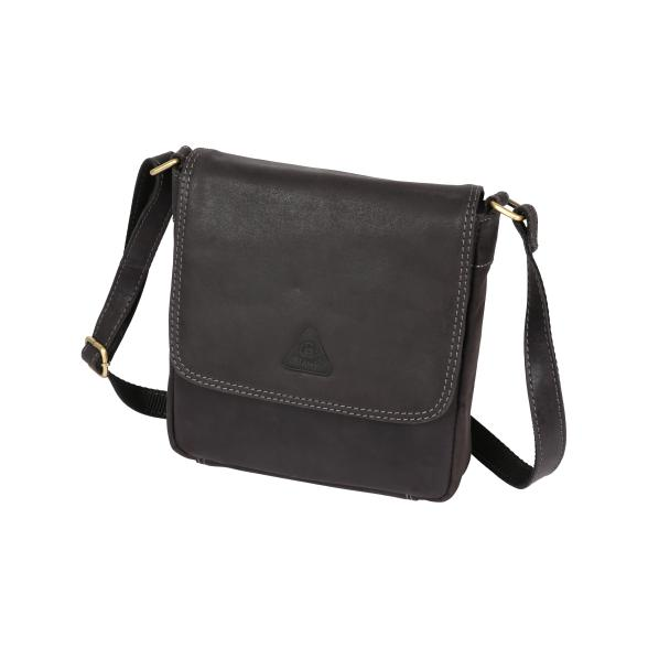 Bianci Hunter Ledertasche, anthrazit