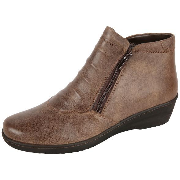 Dr. Feet Nappaleder Damen-Stiefelette, braun