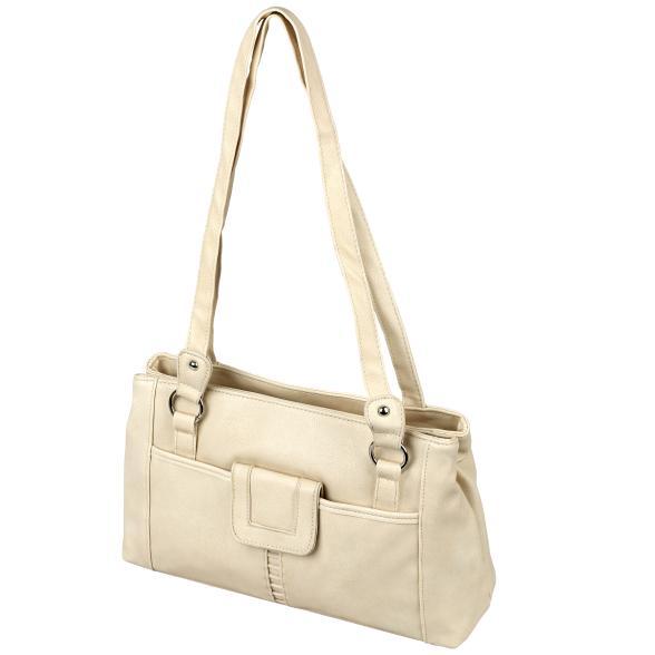 Damen Handtasche Supersoft, beige