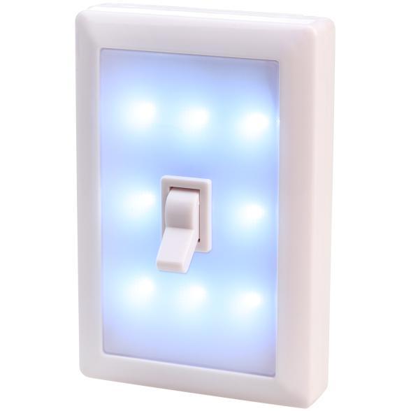 LED-Lichtschalter mit 8 hellen LEDs