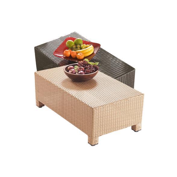 Gartentisch Cube Braun