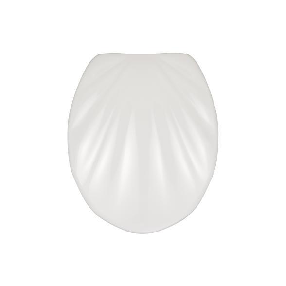 WENKO Premium WC-Sitz Muschel, mit Absenkautomatik