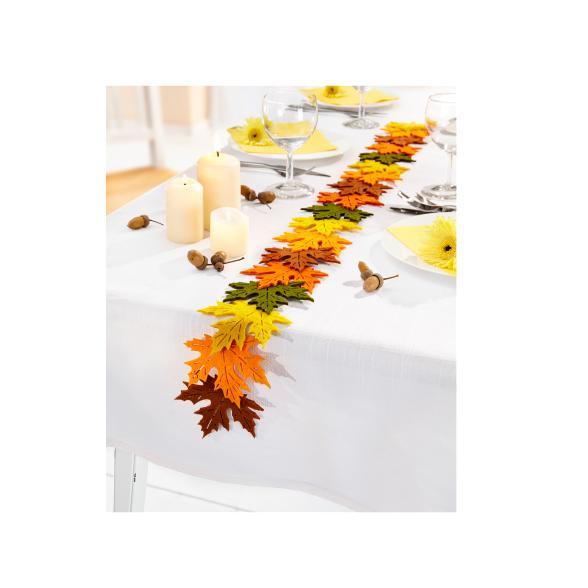 Tischband Herbstlaub