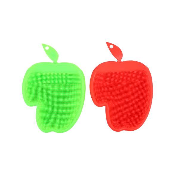 Silikon Handschuh-Set 2-teilig, grün/rot