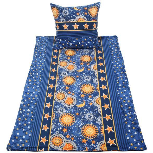 Optidream Bettwasche Blau Gelb 2 Teilig