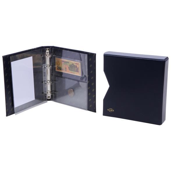 Album Geld der Welt + Banknote