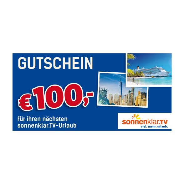 sonnenklar.TV Reise-Gutschein 100