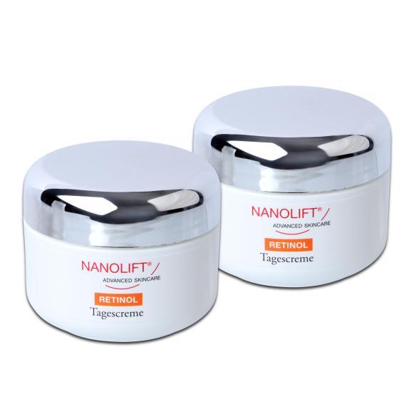 Nanolift Retinol Tagescreme Duo 2x 50 ml