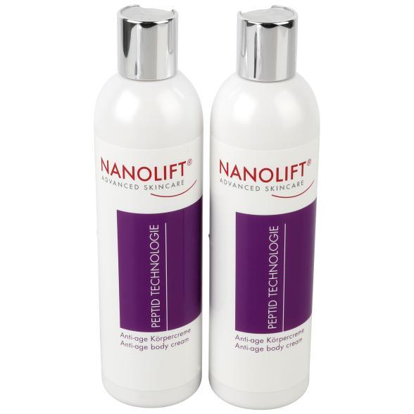 Nanolift Peptid Technology Körpercreme Duo