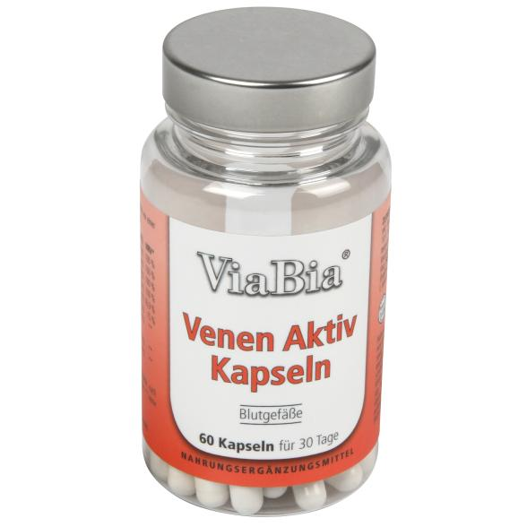 ViaBia Venen Aktiv Kapseln 60 Kapseln
