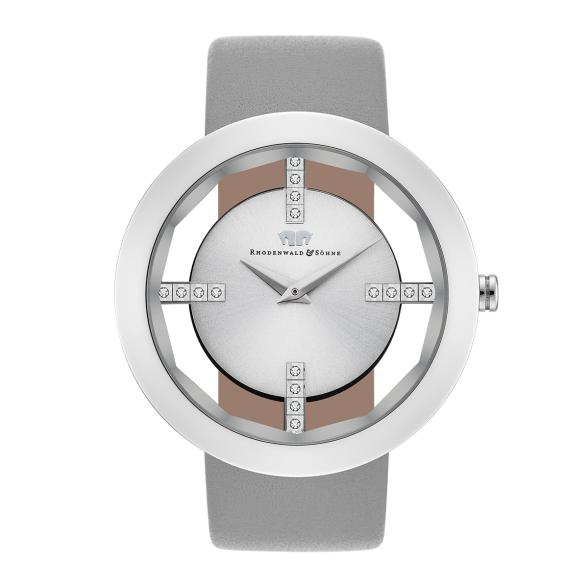 Armbanduhren Armband- & Taschenuhren Nine & Company Damen Schwarz Lederband Silberfarben Wr Batterie