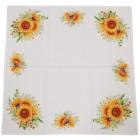 Mitteldecke Sonnenblumen, 85 x 85 cm, Fotodruck - 100045300000 - 2 - 140px