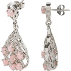 Ohrhänger 925 Sterling Silber rhodiniert Opal pink - 100065200001 - 2 - 140px
