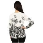 "IMAGINI Damen-Pullover ""Bergamo"" weiß/schwarz XXL (44)  - 100139800005 - 2 - 140px"