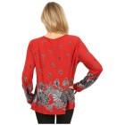 Damen-Pullover 'Toledo' schwarz/grau 46/48 3/4XL - 100166100003 - 2 - 140px