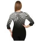 IMAGINI Feinstrick-Pullover 'Anzio' schwarz/weiß 34/36 - 100445400001 - 2 - 140px