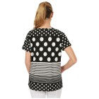 Damen-Shirt 'Lilli' schwarz/weiß M/L 40/42 - 100658800001 - 2 - 140px