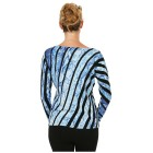 MILANO Design Pullover 'Sassari' schwarz/blau 36/38 - 100992400001 - 2 - 140px