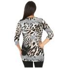 RÖSSLER SELECTION Damen-Longshirt multicolor 44 - 101304800005 - 2 - 140px