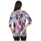 RÖSSLER SELECTION Damen-Longshirt multicolor 36 - 101305500001 - 2 - 140px