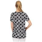 Damen-Shirt 'Mezzana' blau/weiß 36/38 (M/L) - 101449600001 - 2 - 140px