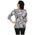 BRILLIANTSHIRTS Shirt 'Dolcedo' schwarz/weiß/grau 48/50 - 101463200004 - 2 - 140px