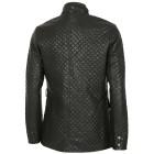 Sportliche Herren-Kunstleder-Jacke schwarz 46 (S) - 101613800001 - 2 - 140px