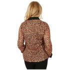 FASHION NEWS 3D-Bluse Druck Strass-Zipper Leopard 36/38 (S) - 101699100001 - 2 - 140px
