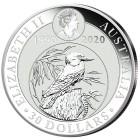 Silberkilo Kookaburra mit 65 ct Blautopas - 102083700000 - 2 - 140px